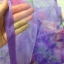 ม่านกันยุงแบบพิมพ์ลาย ไชส์ 100 สีม่วง/ดอกกุหลาบ thumbnail 4