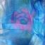 ม่านกันยุงแบบพิมพ์ลาย ไชส์ 100 สีฟ้า/ดอกไม้สลับสี thumbnail 1