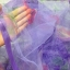 ม่านกันยุงแบบพิมพ์ลาย ไชส์ 100 สีม่วง/ดอกกุหลาบ thumbnail 3