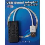 USB Sound Adaptor 8.1 Channel