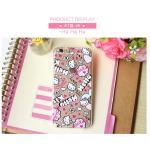 เคสลายคิตตี้ Kitty6 (เคสยาง) - iPhone5