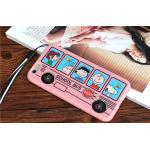 เคส School Bus สีชมพู (เคสยางหนา) - iPhone6 / 6S