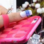เคสลาย สีชมพู (เคสยาง) - iPhone6 Plus / 6S Plus