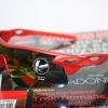 Cycling Sports Glasses uv400 กรอบสีแดง เลนส์ ปรอท