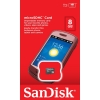 ไมโครเอสดีการ์ด ยี่ห้อ Sandisk ความจุ 8 GB