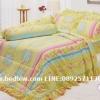 ชุดเครื่องนอน ผ้าปูที่นอน ทิวลิป-tulip ลายดอกไม้ รุ่น 677