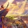 The lion king ภาพติดเพชรDiamond painting