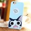 เคสนูน ลายการ์ตูน (เคสยางหนา) - iPhone5 / 5S
