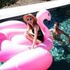 ห่วงยางเล่นน้ำฟลามิงโก้ จัมโบ้ แพยางเป่าลมแฟนซี Inflatable Flamingo Pool Float+งานเมกา