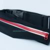 กระเป๋าคาดเอววิ่ง 1 ซิป สีแดง กระเป๋าเคลือบกันน้ำอย่างดี