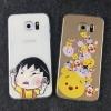 เคสลายการ์ตูน (เคสยาง) - Galaxy Note4