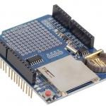 Data Logging shield (SD+RTC+Prototyping)