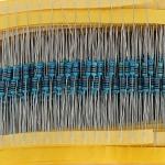 Resistor pack 30 แผง (คละค่าความต้านทาน)