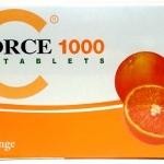ซี ฟอร์ช 1000 (C FORCE 1000) ศูนย์จำหน่ายราคาส่ง แบบแผง 60 เม็ด ส่งฟรี