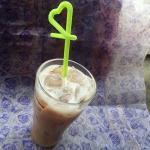 เทียนกาแฟเย็น 1 แก้ว ขนาด 7x7x13 cm