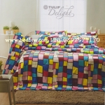 ชุดเครื่องนอน ผ้าปูที่นอน ทิวลิป-ดีไลท์ Tulip-Delight รหัส DL018
