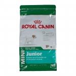Royal Canin MINI JUNIOR 8 kg. อาหารแบบเม็ด สำหรับลูกสุนัข พันธุ์เล็ก ขนาด 8 กก.