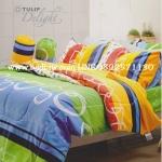 ชุดเครื่องนอน ผ้าปูที่นอน ทิวลิป-ดีไลท์ Tulip-Delight รหัส DL017