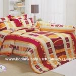 ชุดเครื่องนอน ผ้าปูที่นอน ทิวลิป-tulip กราฟฟิก รุ่น 709