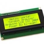 20x4 LCD (สีเขียว)