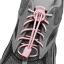 เชือกรองเท้าวิ่ง LOCK LACES สีชมพูอ่อน ล็อคแน่น ไม่ต้องผูกเชือกรองเท้า thumbnail 4