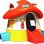 บ้านพลาสติก บ้านกระดานลื่นเห็ด ขนาด 226*255*160 ซม.