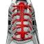 เชือกรองเท้าวิ่ง LOCK LACES สีแดง ล็อคแน่น ไม่ต้องผูกเชือกรองเท้า thumbnail 4