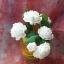 เทียนช่อดอกมะลิในแก้วเหลืองสวย 6 ดอก thumbnail 1