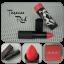 MeMeMe Long Wear Satin Lip Cream - Tuscan Red thumbnail 2