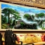 ต้นสน กำแพงเมืองจีน ภาพติดเพชรDiamond painting thumbnail 1