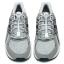 เชือกรองเท้าวิ่ง LOCK LACES สีขาว ล็อคแน่น ไม่ต้องผูกเชือกรองเท้า thumbnail 5