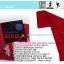 ปลอกแขนกันแดด AQUA X สีแดง แบบสอดนิ้ว ปลอกแขนกันUV thumbnail 2
