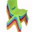 *20แถม1* เก้าอีพลาสติกเด็ก พลาสติกเกรด PP มี 3 สี ฟ้า, ชมพู และ เขียว