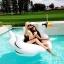 ห่วงยางเล่นน้ำหงส์ขาว บิ๊กไซส์ Gian Swan Inflatable thumbnail 1