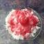 เทียนน้ำแข็งใสราดน้ำแดง นมข้นพร้อมเชอรี่ thumbnail 2