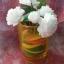 เทียนช่อดอกมะลิในแก้วเหลืองสวย 6 ดอก thumbnail 2