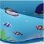 สระน้ำเป่าลมเด็ก ขนาด120cm ลายหนูน้อยนักดำน้ำ (สีฟ้า) แถมฟรี ห่วงยางคอเด็ก thumbnail 4