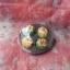เทียนขนมจีบ1 ชุด 4 ชิ้น แพ็คใส่กล่องพลาสติกใส ขนาด 3x3x3 cm ต่อชิ้น thumbnail 4