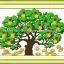 เงินทองไหลมาครอสติสจีนพิมพ์ลาย thumbnail 1