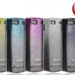 เคสแข็งบางลายหยดน้ำ Samsung Wave 3 - S8600 รุ่น Imak RainDrop