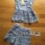 Set เซ็ตเสื้อแขนกุดและกางเกงขาสั้นผ้าลูกไม้สีม่วง thumbnail 5