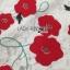 เดรสผ้าลูกไม้สีขาวปักลายดอกไม้สีแดงตกแต่งชายพู่ thumbnail 5