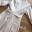 มินิเดรสผ้าคอตตอนตกแต่งลูกไม้ผูกโบสไตล์เฟมินีน thumbnail 7